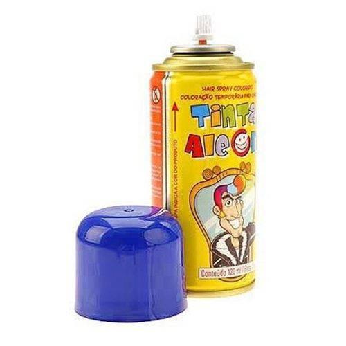 Tinta Spray para Cabelo Azul 120ml