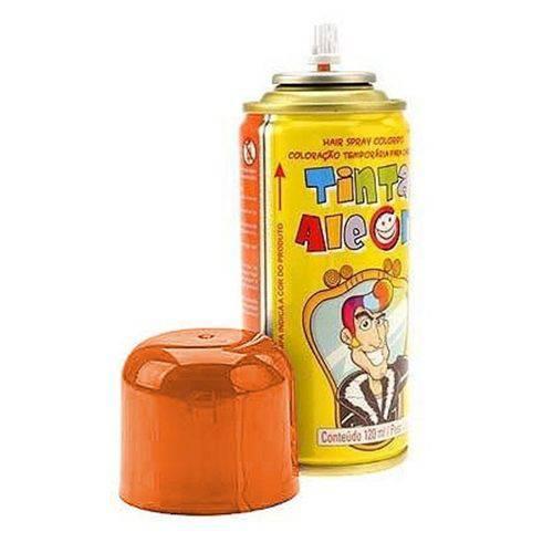 Tinta Spray para Cabelo Laranja 120ml