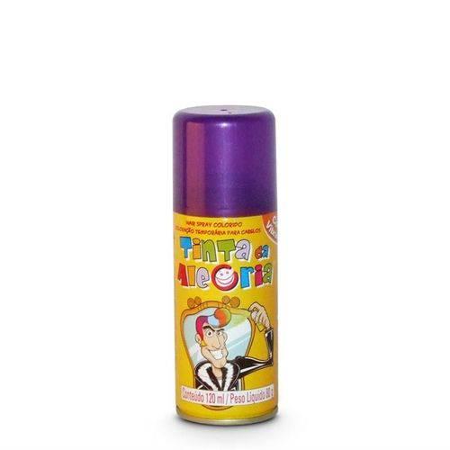 Tinta Spray para Cabelo Roxa