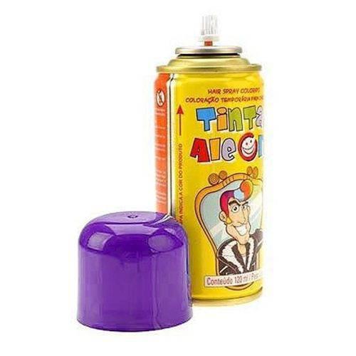 Tinta Spray para Cabelo Roxo 120ml