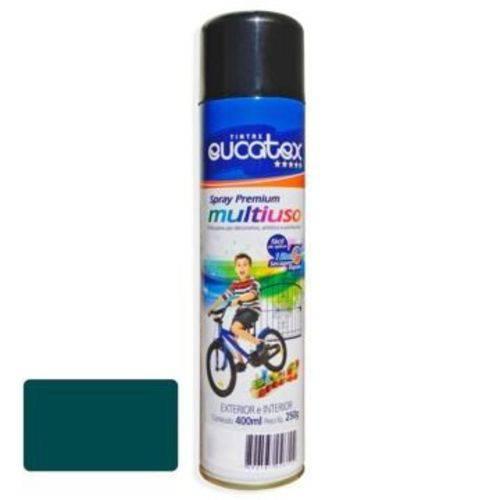 Tinta Spray Verde Claro Brilhante Eucatex