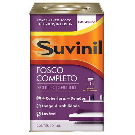 Tinta Suvinil Acrílico Fosco Completo Premium Gelo