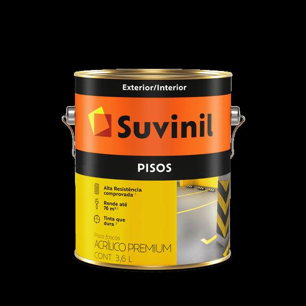 Tinta Suvinil Piso Fosco Amarelo Demarcação 3,6L