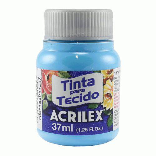 Tinta Tecido 37ml Azul Acrilex