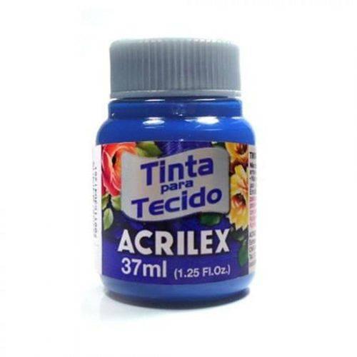 Tinta Tecido 37ml Azul Turquesa 501 Acrilex