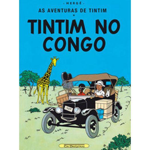 Tintim no Congo - Cia das Letras