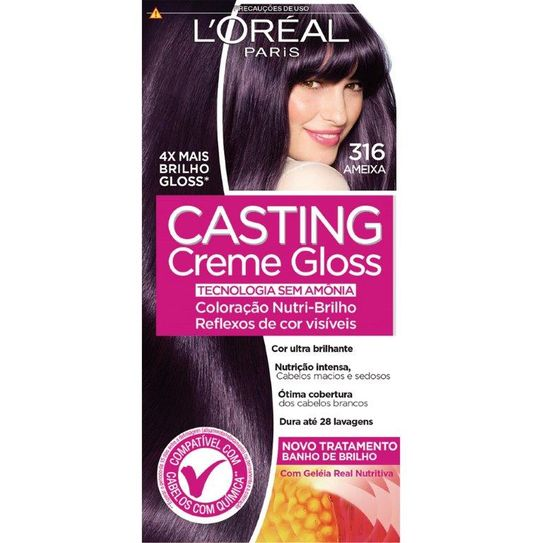 Tintura Casting Creme Gloss Ameixa 316
