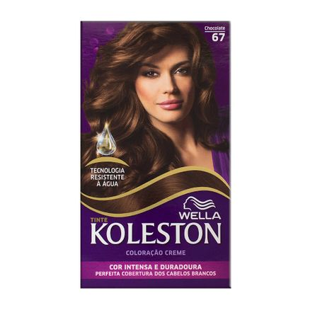 Tintura Creme Koleston Wella Chocolate 67 Kit