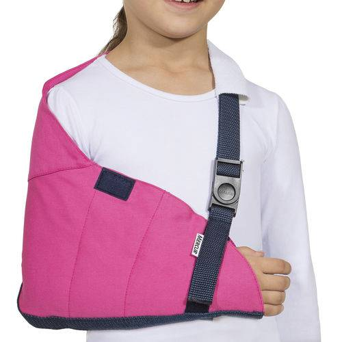 Tipóia Estabilizadora Estofada Mercur Rosa (3 a 6 Anos)