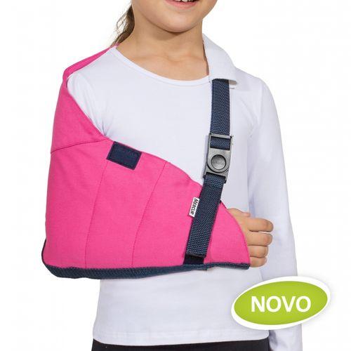 Tipóia Estabilizadora Velpau Infantil Rosa PP