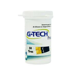 Tira Glicemia G-Tech com 50 Unidades (Cód. 16611)