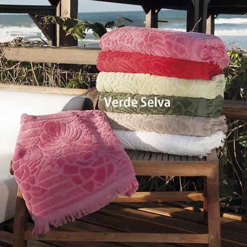 Toalha de Rosto Aveludada Sofisticata Verona - Atlântica
