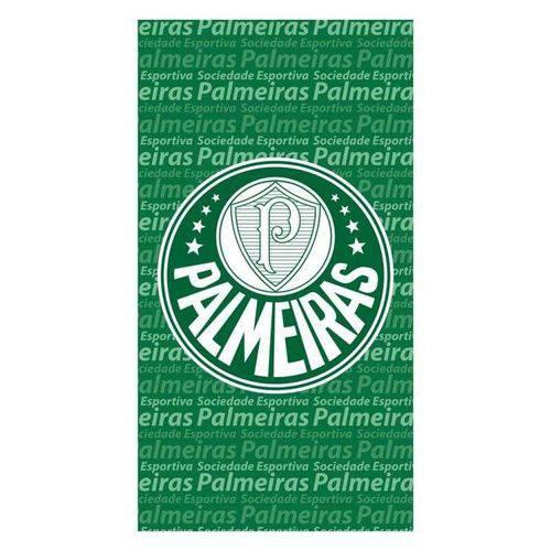 Toalha de Banho e Praia Aveludada Palmeiras Buettner