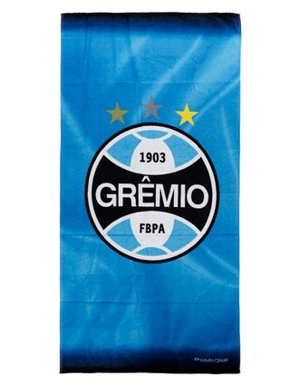 Toalha de Banho Grêmio Azul