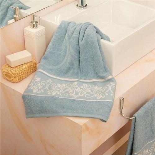 Toalha de Banho Helena Azul Azul