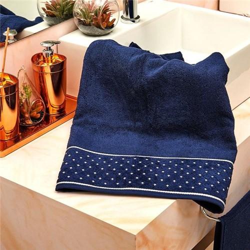 Toalha de Banho Safira Azul Azul