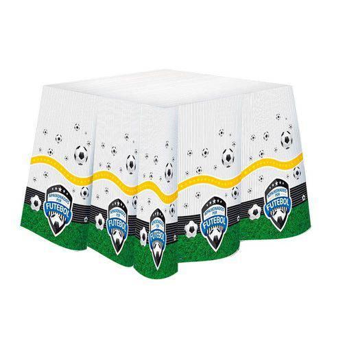Toalha de Mesa Descartável Futebol Festcolor