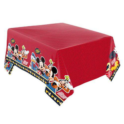 Toalha de Mesa Mickey Papel 120cm X 220cm Clássico