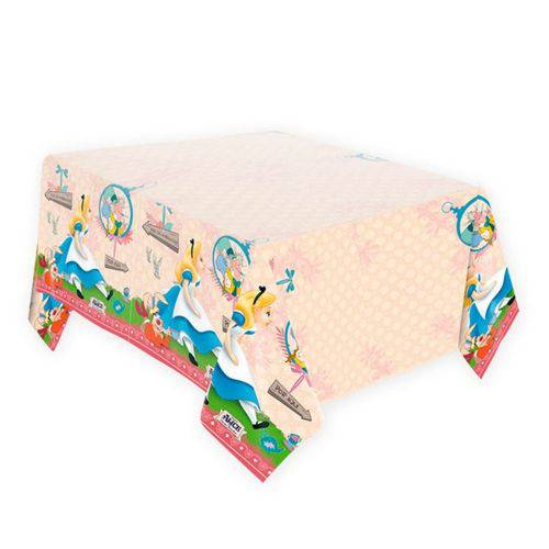 Toalha de Papel Alice Disney - 120cm X 220cm