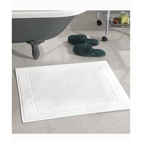 Toalha de Piso Dohler -Felpudo Prime Liso Branco
