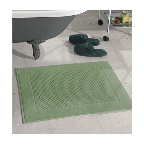 Toalha de Piso Dohler -Felpudo Prime Liso Verde