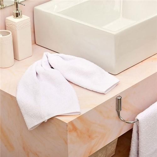 Toalha de Rosto Class Branco Branco