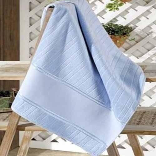 Toalha de Rosto Dohler Velour para Bordar 50cm X 80cm Bella Azul