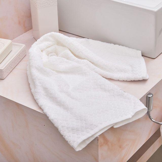Toalha de Rosto Turim Buddemeyer Branco Branco