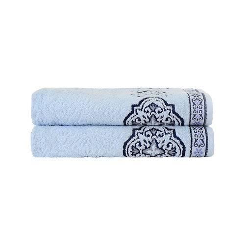 Toalha de Rosto Viana Azul Céu