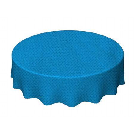 Toalha de TNT Redonda 1,30 Mts Azul Clara - Unidade