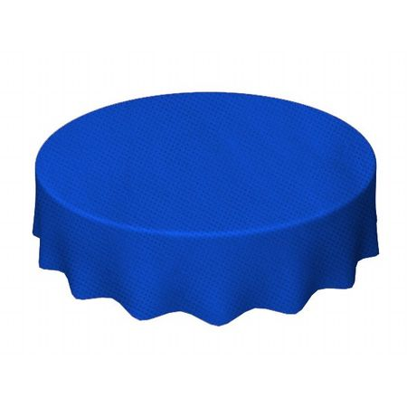 Toalha de TNT Redonda 1,30 Mts Azul Escura - Unidade