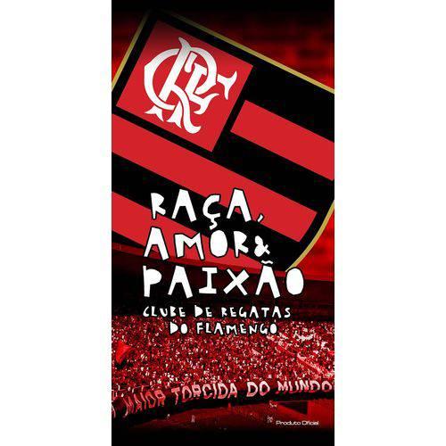 Toalha Felpuda Time de Futebol - Flamengo   Buettner