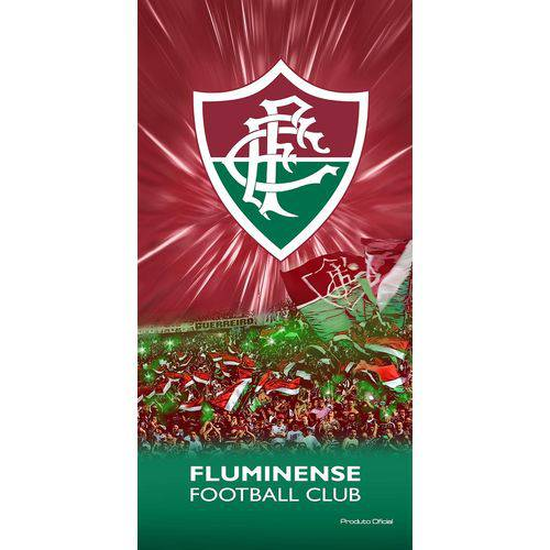 Toalha Felpuda Time de Futebol - Fluminense | Buettner