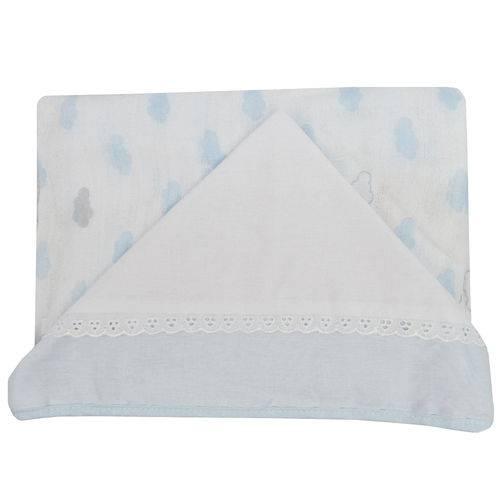 Toalha Fralda com Capuz Fisher-Price Masculina Azul