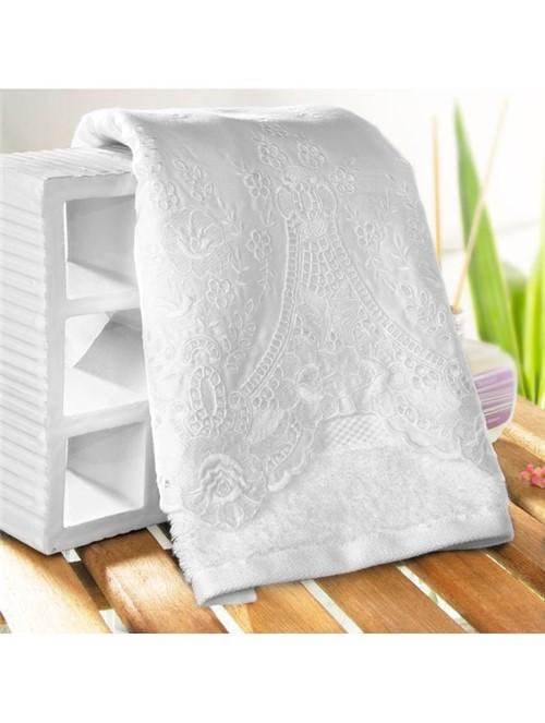 Toalha Lavabo Applicato Branca 30X50cm