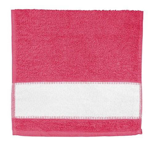 Toalha Lavabo para Sublimação PINK