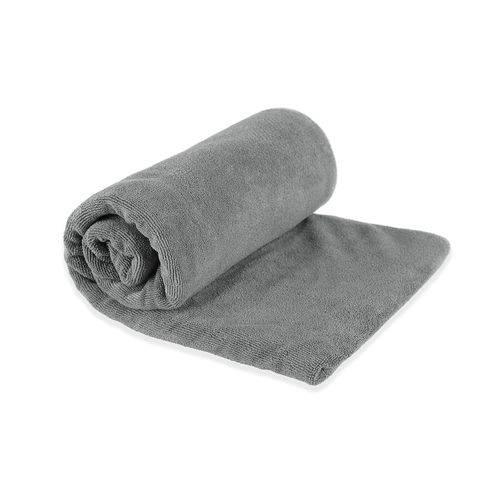 Toalha Micro Fibra Sea To Summit Tek Towel Cinza - Tam. M