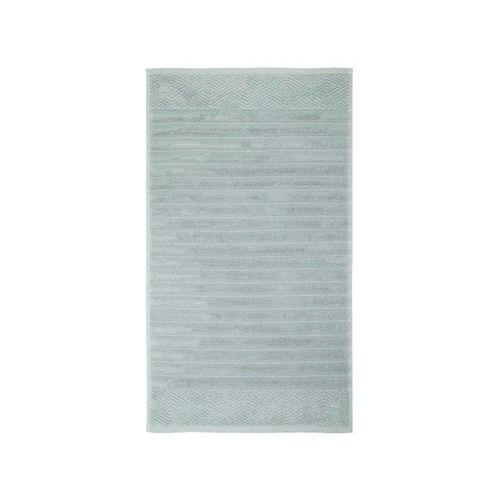 Toalha para Piso Trussardi Ondulato 48x70cm Acquamarine