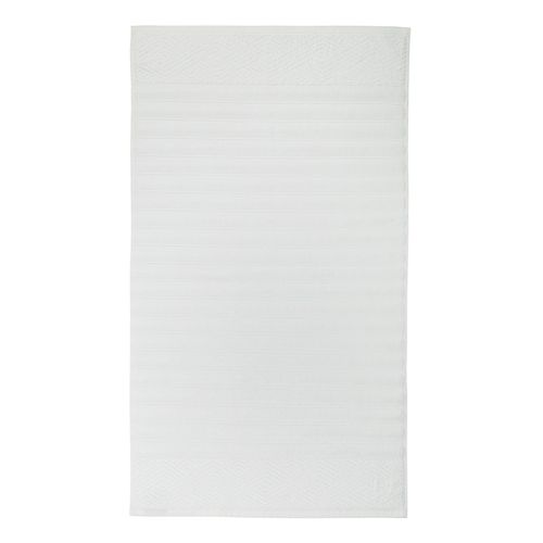 Toalha para Piso Trussardi Ondulato 48x70cm Branco