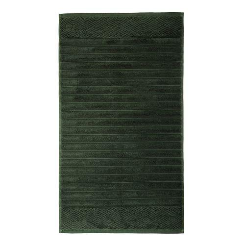 Toalha para Piso Trussardi Ondulato 48x70cm Smeraldo
