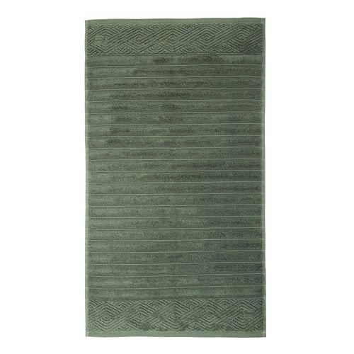Toalha para Piso Trussardi Ondulato 48x70cm Verde Nile
