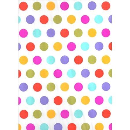 Toalha Perolada 78x78 Poá Colorida Toalha Perolada Quadrada 78x78 Cm Poá Colorida - 10 Unidades