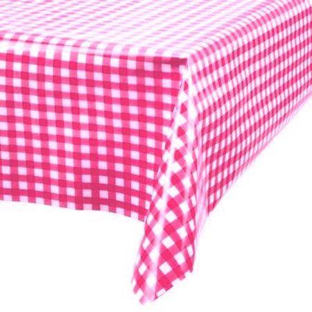 Toalha Perolada 78x78 Xadrez Pink Toalha Perolada Quadrada 78x78 Cm Xadrez Pink - 10 Unidades
