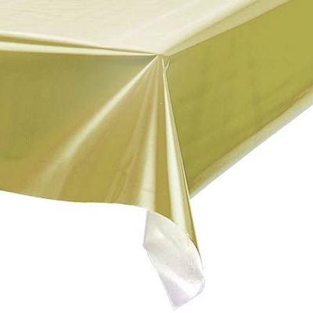 Toalha Perolada Quadrada 78x78 Cm Dourada - 10 Unidades