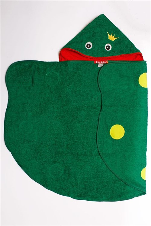 Toalha Sapo Toalha Pp - Verde Bandeira