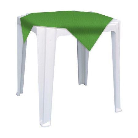 Toalha TNT Quadrada 0,70x0,70 Verde Clara Toalha de TNT Quadrada 0,70x0,70 Mts Verde Clara - 05 Unidades
