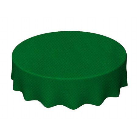 Toalha TNT Redonda 1,30 Verde Escura Toalha de TNT Redonda 1,30 Mts Verde Escura - Unidade