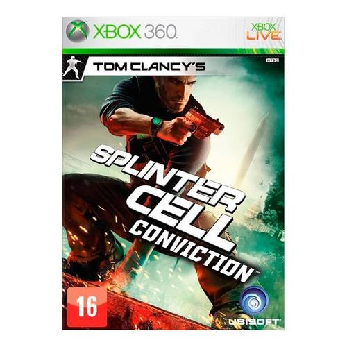 Tom Clancys Splinter Cell: Conviction - Xbox 360
