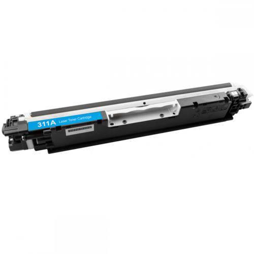 Toner HP CE311A CF351A Ciano Compatível 1k