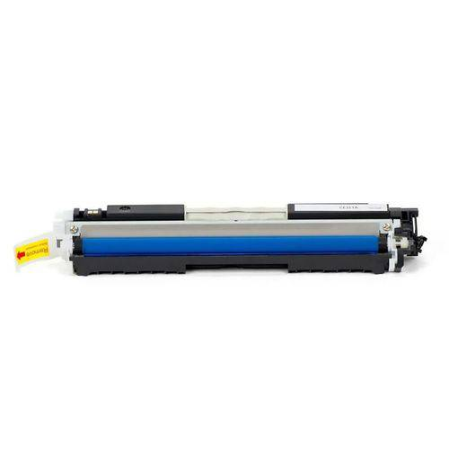 Toner Compatível Hp Ce311a 126a / Cf351a 130a / Cp-1020wn Cp-1025nw M175a M175nw M177fw M275 M275nw 176n / Ciano / 1.000
